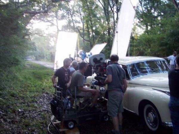 ■ [ Sublimes Créatures ]  La Mercedes Benz de 1960 utilisée pour le film