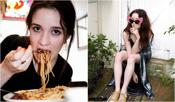 ■ [ Alice Englert ]  Nouvelles photos du shoot de Nylon