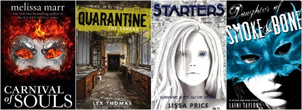 ■ [ Kami Garcia ]  Les livres préférées de 2012 par Kami