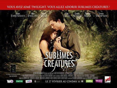 ■ [ Sublimes Créatures ]  L'affiche officielle française