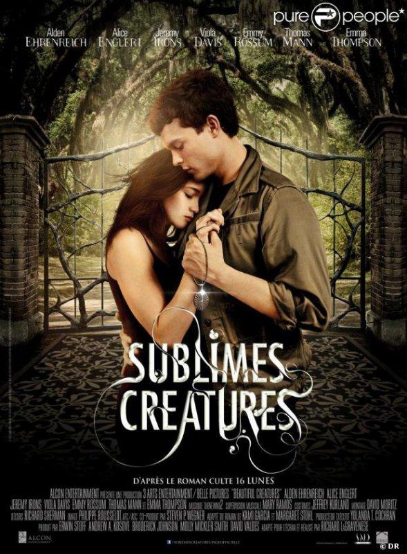 ■ [ Sublimes Créatures ]  L'affiche officielle française dévoilée par Pure Fans !