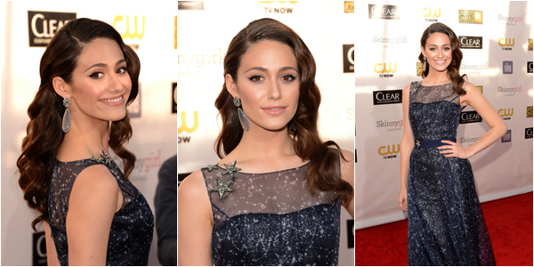 ■ [ Emmy Rossum ]  18th Annual Critics' Choice Movie Awards - 10 Janvier 2013