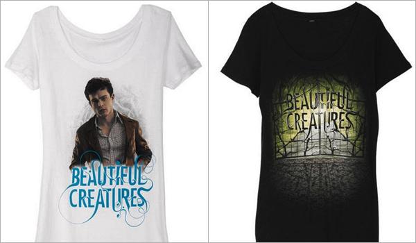■ [ Sublimes Créatures ]  Les T-shirts officiels du film