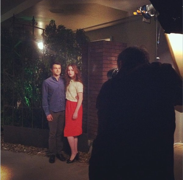 ■ [ Photoshoot ]  Alden et Alice pour U.S.A Today