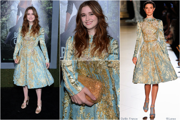 ■ [ Beautiful Creatures Premiere Style ]  Alice Englert