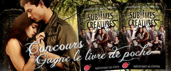 CONCOURS Gagne le livre de poche 16 Lunes avec la couverture du film !