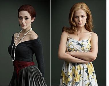 ■ [ Sublimes Créatures ]  Deux photoshoots promotionnels de Ridley et Emily