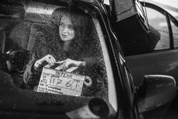 """■ [ Casting ]  Alice sur le tournage de """"In Fear"""""""