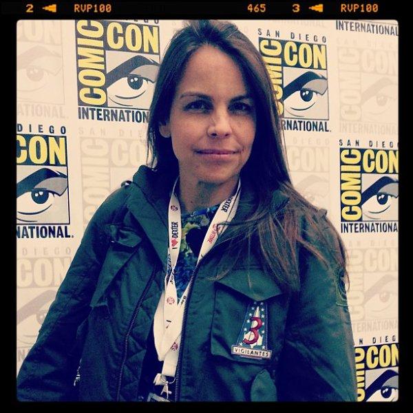 ■ [ Margaret Stohl ]  L'auteur était également au Comic-Con !