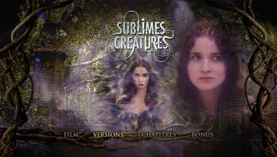 ■ [ Sublimes Créatures ]  Les Menus du DVD français