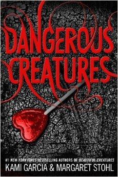 ■ [ Dangerous Creatures ]  La couverture américaine dévoilée !