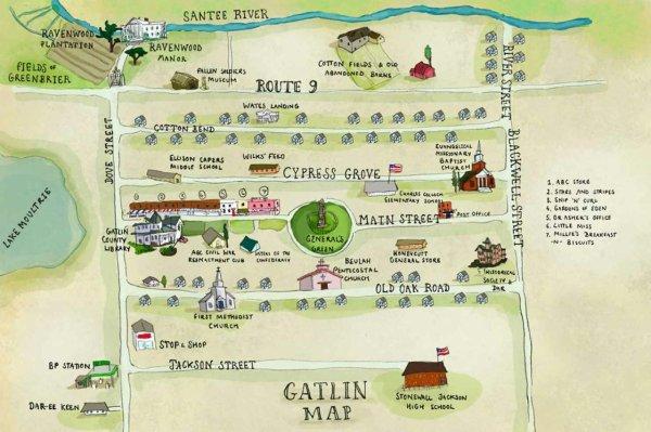 ■ [ 16 Lunes ]  La Carte de Gatlin