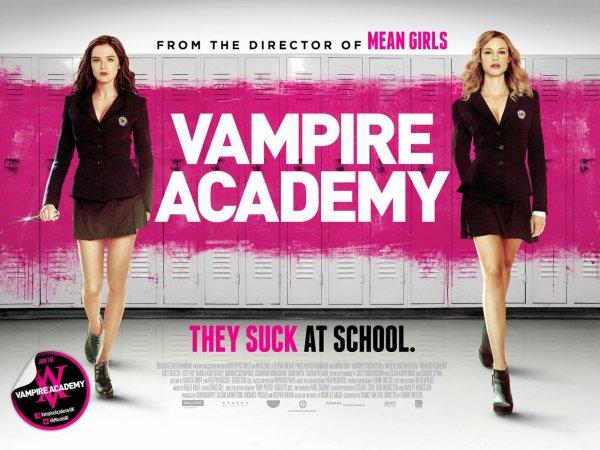 ■ [ Zoey Deutch ]  Vampire Academy maintenant en salles !