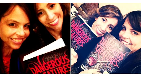 ■ [ Dangereuses Créatures ]  Les auteurs avec les premiers exemplaires du roman !