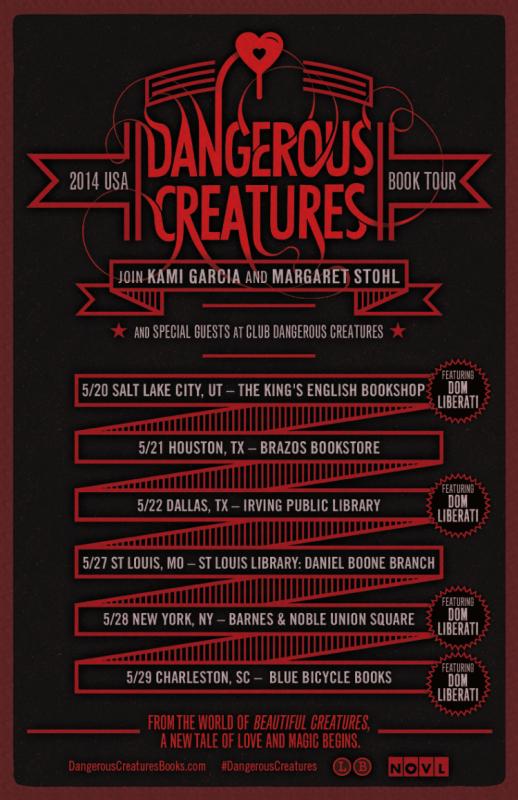 ■ [ Dangerous Creatures Tour ]  Présentation