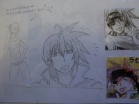 When I think about my manga ... I do weird things... xD [partie 8]