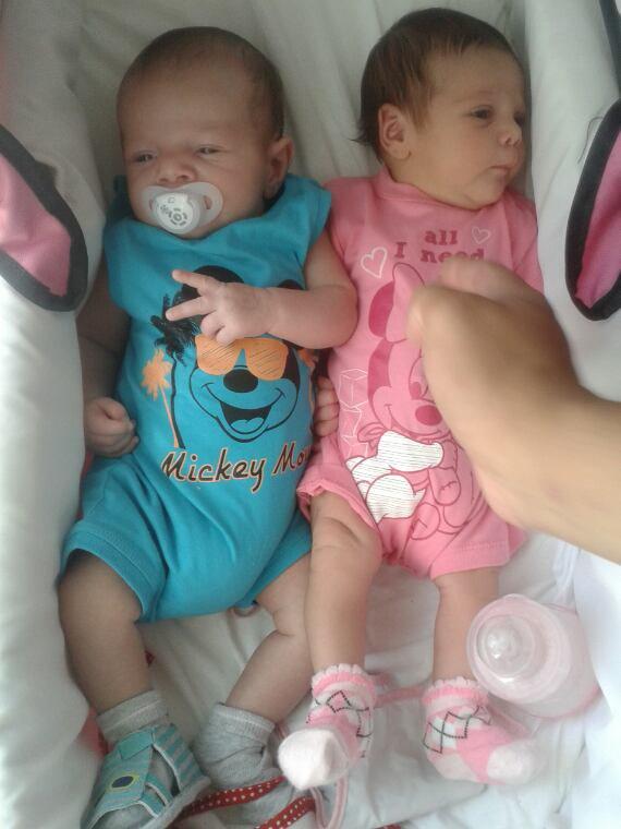 mon flis maysson et sa cousine inalya