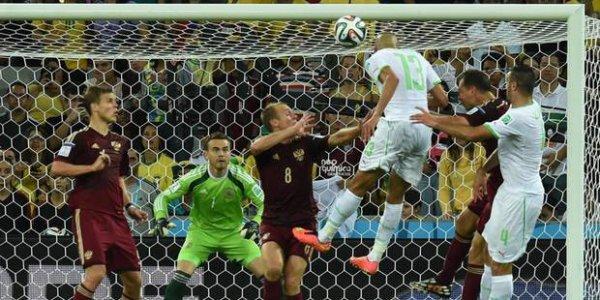 L'Algérie s'est qualifiée pour les huitièmes de finale!