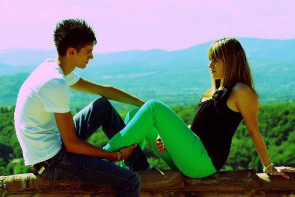 Vous ne pouvez pas décrire le sentiment amoureux. Vous le savez quand cette personne vous rend meilleur