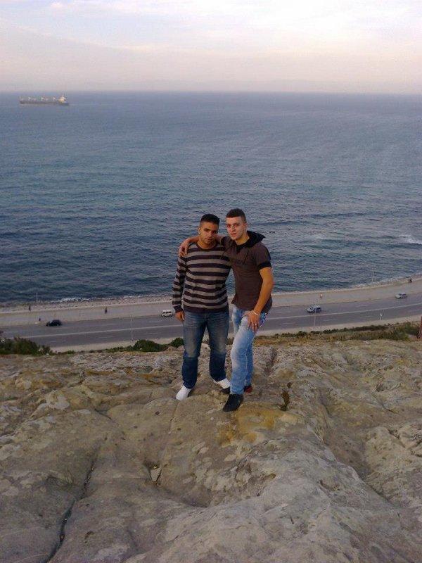 Avec Mon Cousin a ma ville Tanger