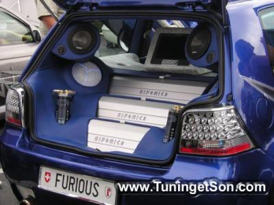 installateur audio complet de voiture