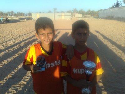 ma nouvelle ecole de foot ball pour les enfants defavoriser en tunisie