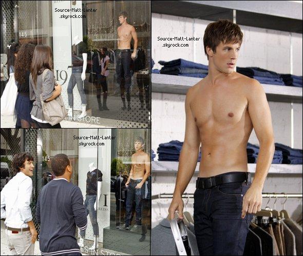 Voici les stills de l'épisode 3x06 ou l'on voit Matt. Ne bavez pas trop les filles ;P  Ton Avis ?