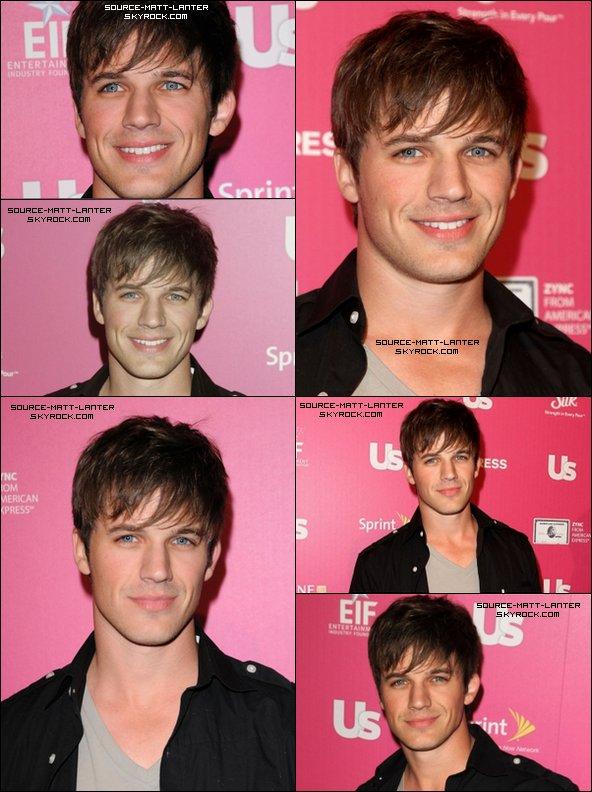 """Le 18 novembre 2010  Matt au """"Stars Who Care"""". Il nous a sorti une tenue plutôt simple et un sourire à faire tomber.  Ton Avis ?"""