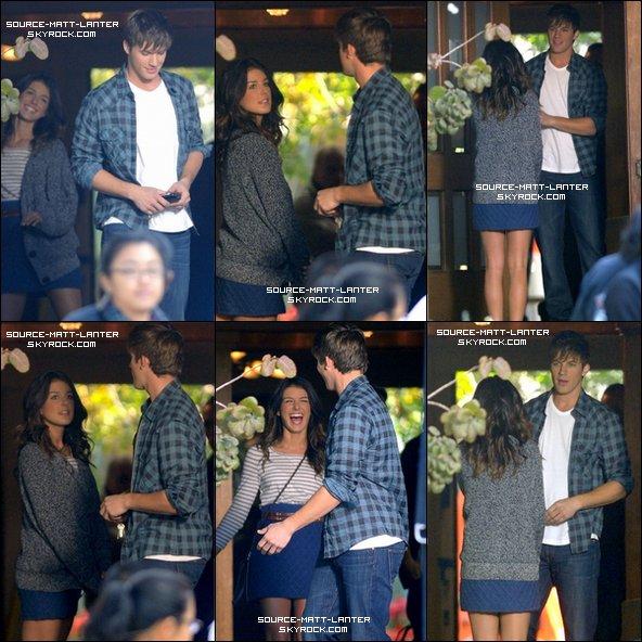 Le 16 novembre 2010 Matt sur le tournage de 90210 avec Shenae Grimes ♥.  Ton Avis ?