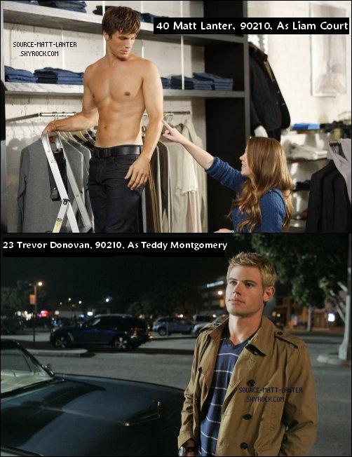 Matt est classer 40eme au classement des acteurs les plus sexy. Après Trevor Donovan une des co-stars de 90210. Ton Avis ?