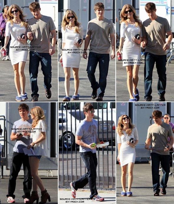 Le 20 janvier 2011. Matt sur le tournage de 90210 en compagnie de la co-star Annalynne Mccord. Ton Avis ?