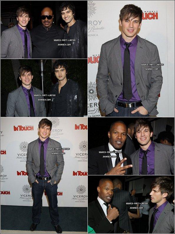 Le 11 Fevrier 2011. Matt était à la soirée de Pre-Grammy en compagnie de sa co-star Michael Steger. Ton Avis ?