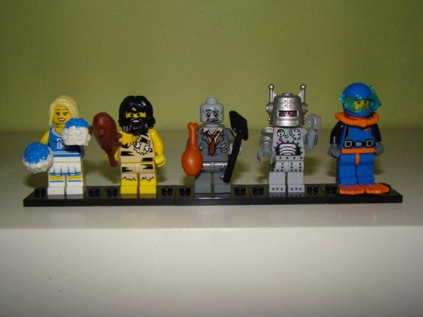 LEGO minifigures séries 1 : la crise