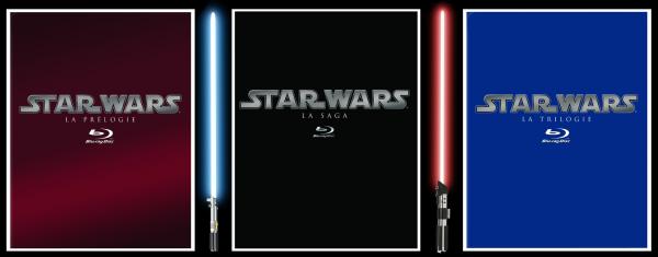 Star Wars en Blu-ray !!!
