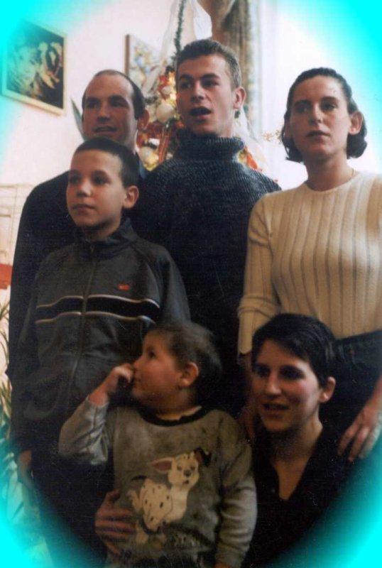 la famille.     après une belle rencontre