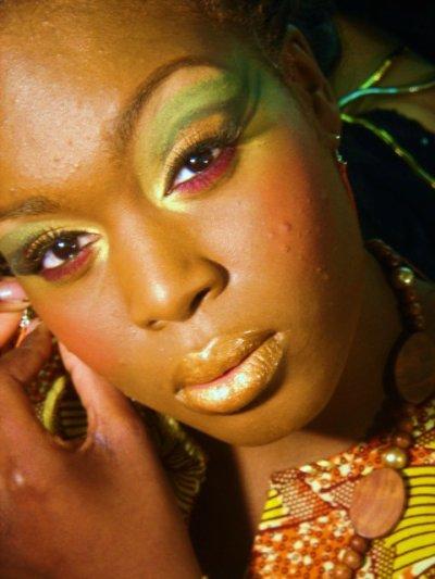 Close up: Thématique 'pêche' peau mat-Patricia-