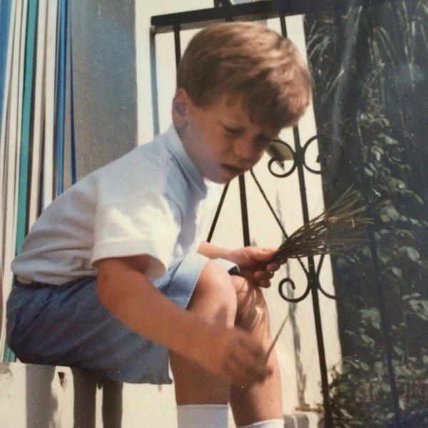 Moi à 4 ans à Londres :) ;) (l)