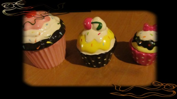 Nouveau cupcake :p -