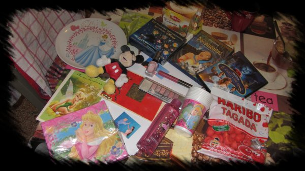 Swap Disney recu =) Mille merci amandine !!!