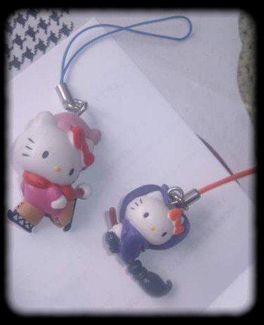 Petite peluche officiel du Japon de 2003 et deux strap dont celui de la sorciere qui me permet de complété et finir ma collection Spooky ;p