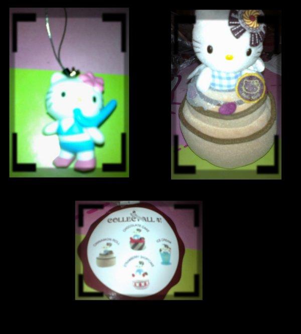 Nouveauté Hello Kitty - mon dernier strap sport pr finir ma collec' et une petite merveille de peluche :p ahhh j'adore