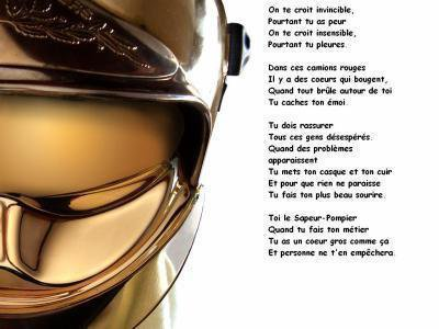 Poème Pompier Mon Reve De Le Devenir