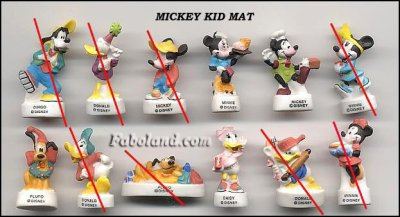 Mickey kid mat
