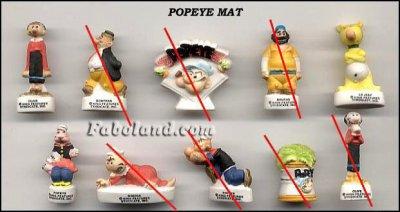 Popeye mat