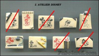 L'atelier Mickey