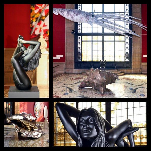 Deux ½uvres de Marc Quinn pour exprimer une vision de la vie. Le coquillage « The Supa Littoral Zone » porte à sa surface le dessin d'une spirale, identique à la ligne de route des premiers navigateurs et « Stealth Kate » représente Kate Moss, icône des temps moderne, devenue ici une déesse sortant du coquillage