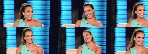 """Le 9 Août 2011, Jessica était à l'émission """"Jimmy Kimmel Live"""" mardi dernier . Voici des photos et trois vidéos . Article rédigé par Sandra."""