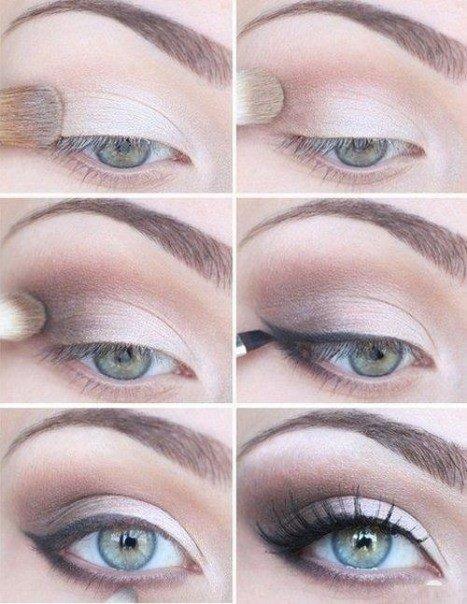 Maquillage Oeil de biche