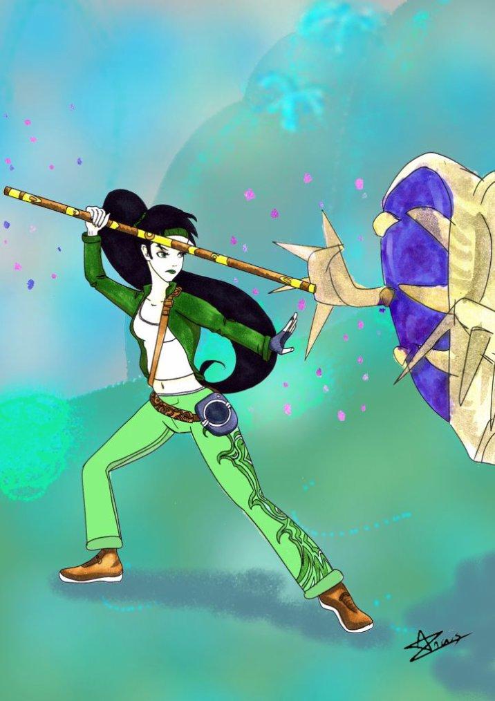 Concours de Ritsuki-Drawing : thème sur les jeux vidéos