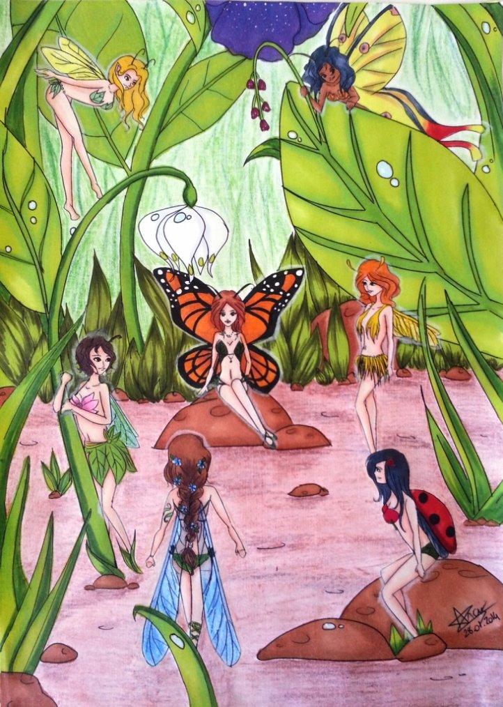 Devinez ce que sont ces fées insectes !